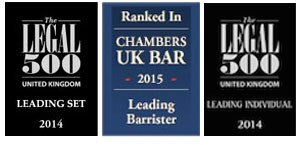 Mansfiield Chambers in Chambers & Partners and Legal 500